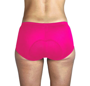 Women's 3D Padded Cycling Underwear Bicycle Panties, Low-Waist Mesh Breathable - Urban Cycling Apparel