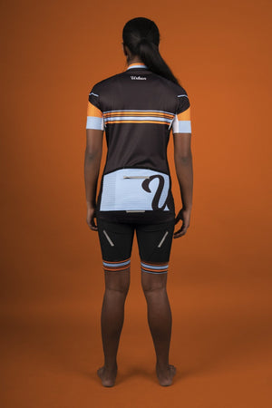 Women's Urban Pro Team Jersey, Bib Shorts - Urban Cycling Apparel