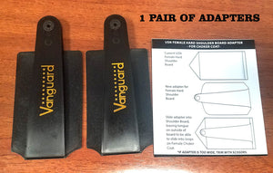 "FEMALE ""Hard"" Shoulderboards & Adapter's"