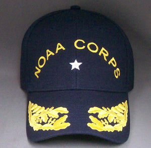 NOAA Corps Uniform Ballcaps