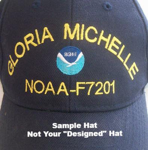 "NOAA ""Customized"" Cap Builder - Read Description Before Ordering"
