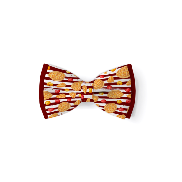 Sweet As Pie - Double Layered Bow Tie