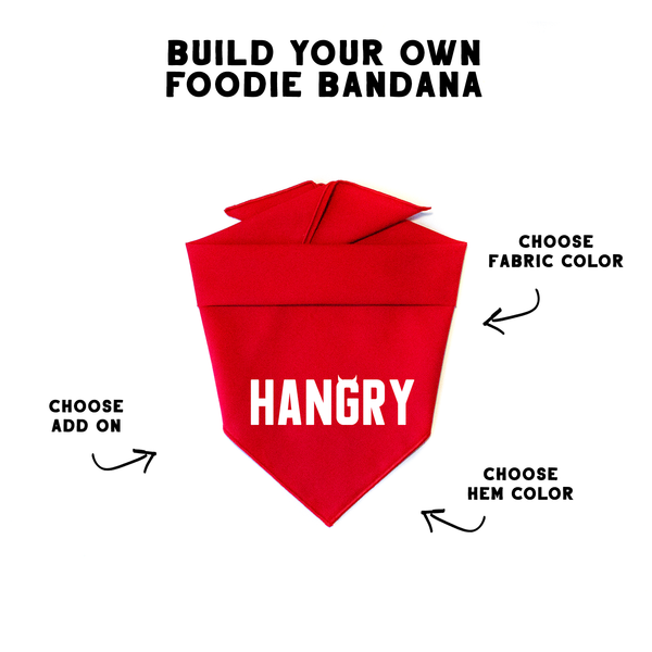 Build Your Own Foodie Bandana - PawTies