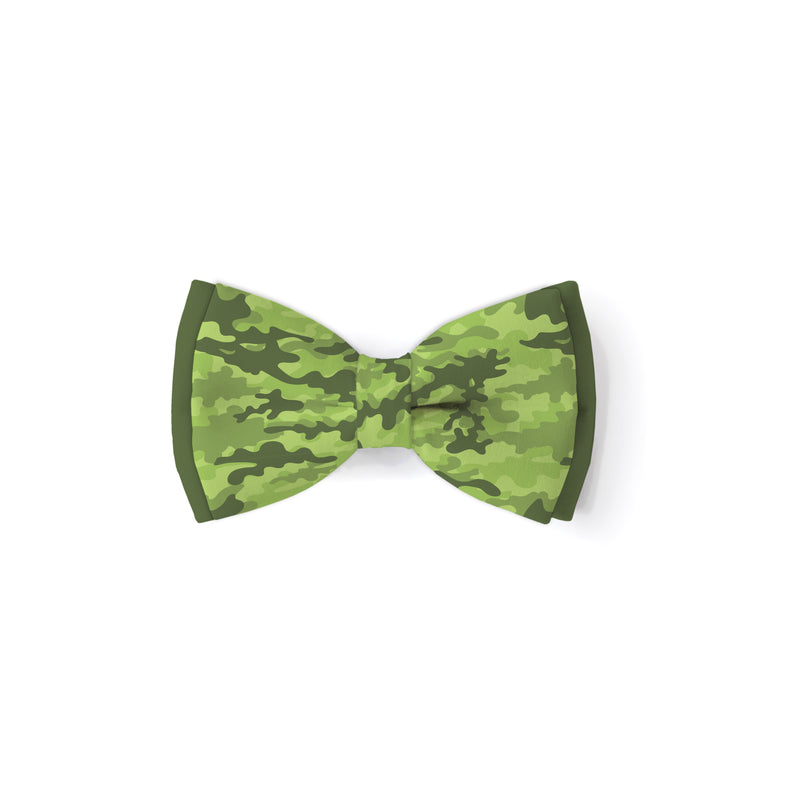 Camo - Double Layered Bow Tie