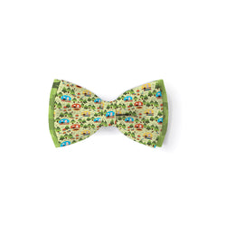 Happy Camper - Double Layered Bow Tie