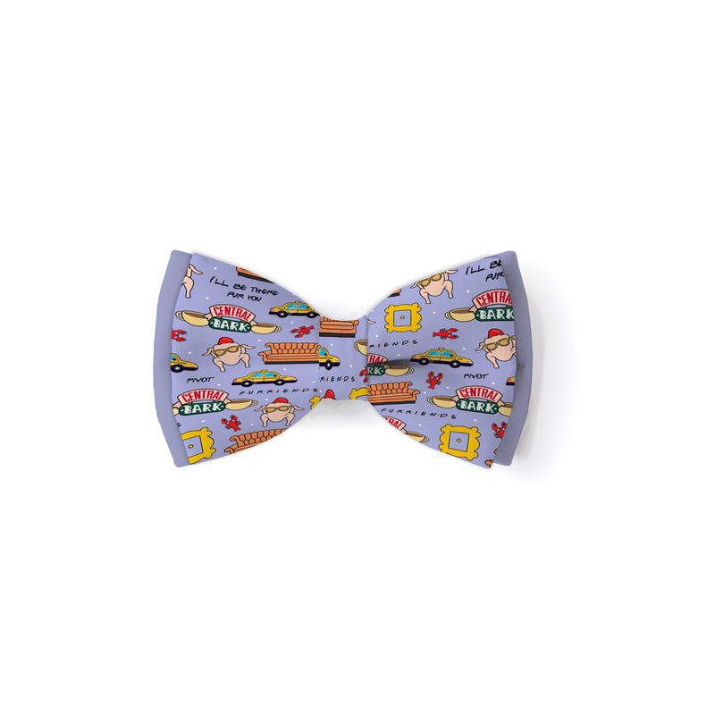 Central Bark - Double Layered Bow Tie