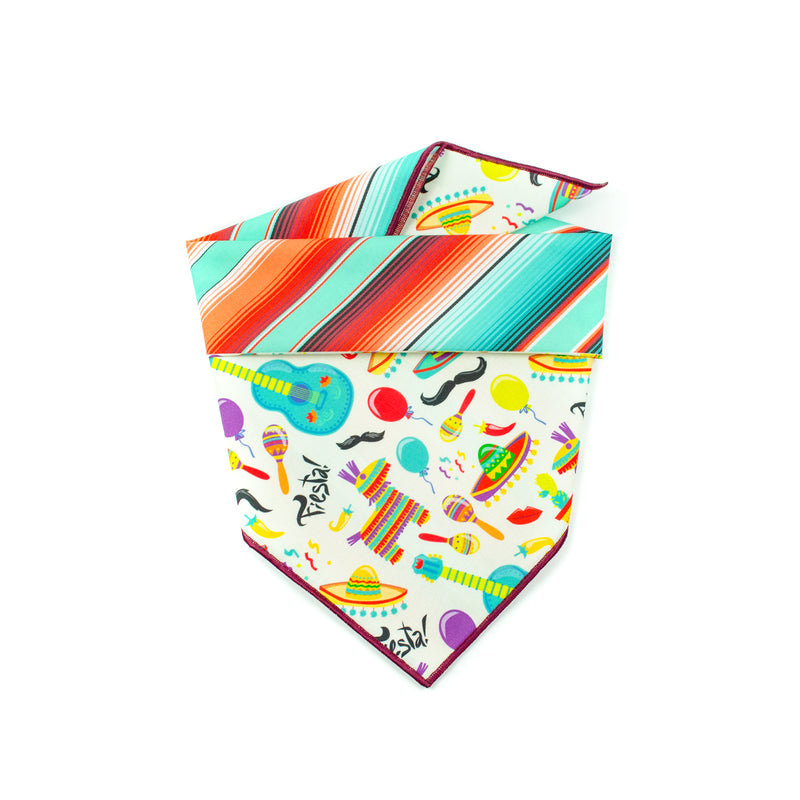 Fiesta - Double Sided Dog Bandana