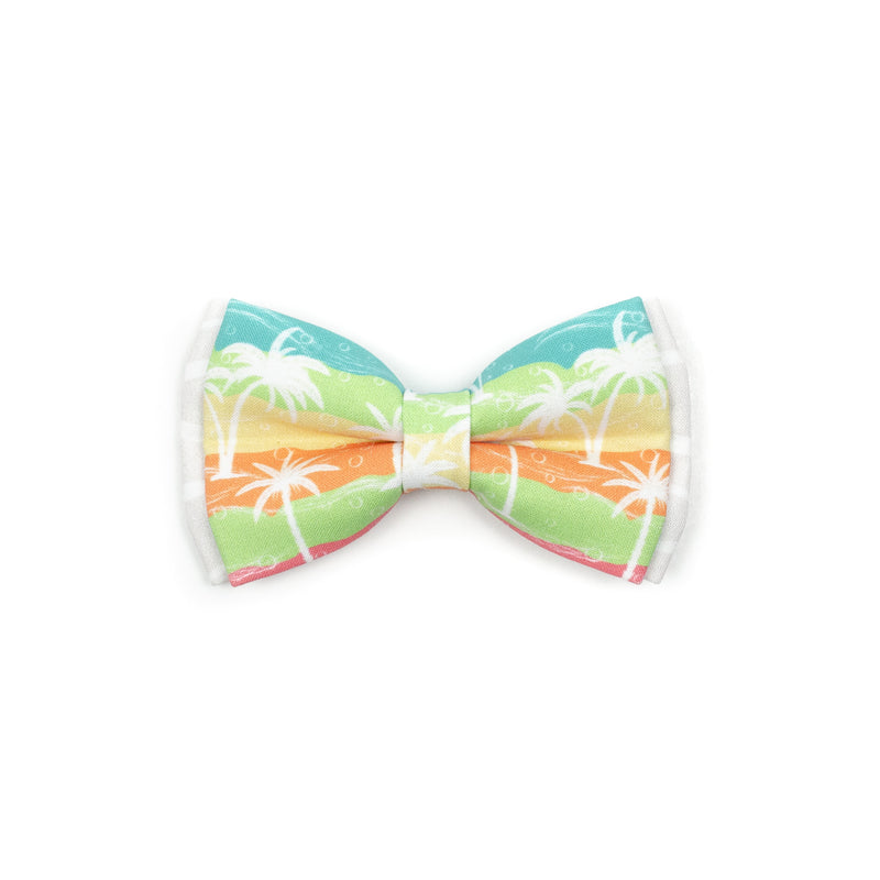 Palm Trees - Double Layered Bow Tie