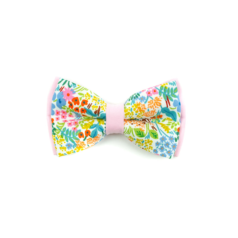 Ruby - Double Layered Bow Tie