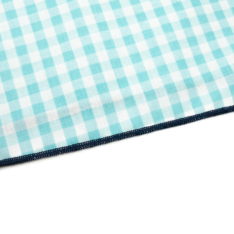 Aqua Gingham - PawTies