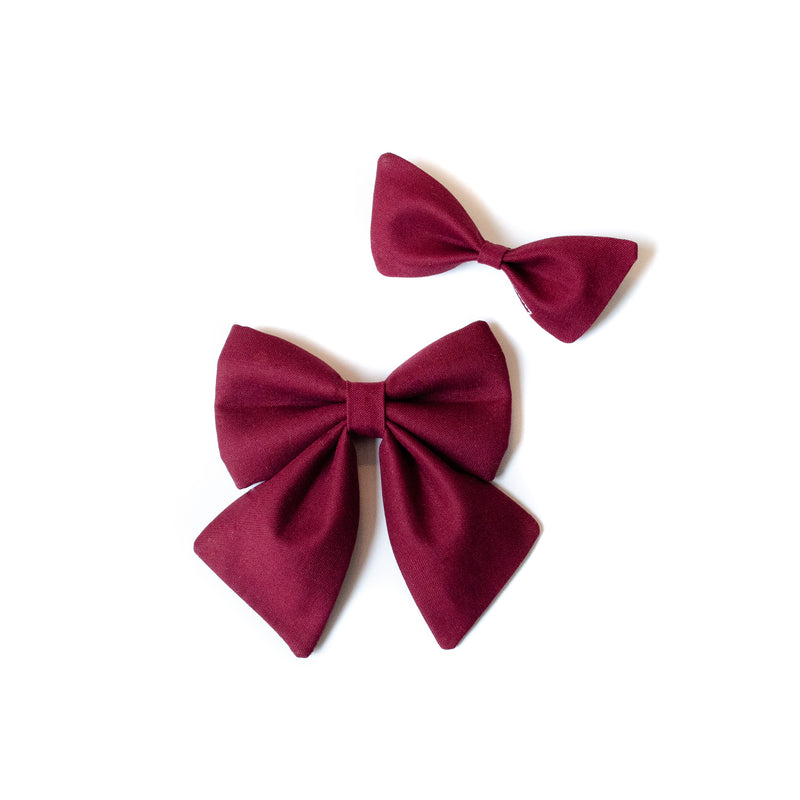 Matching Hair Bow