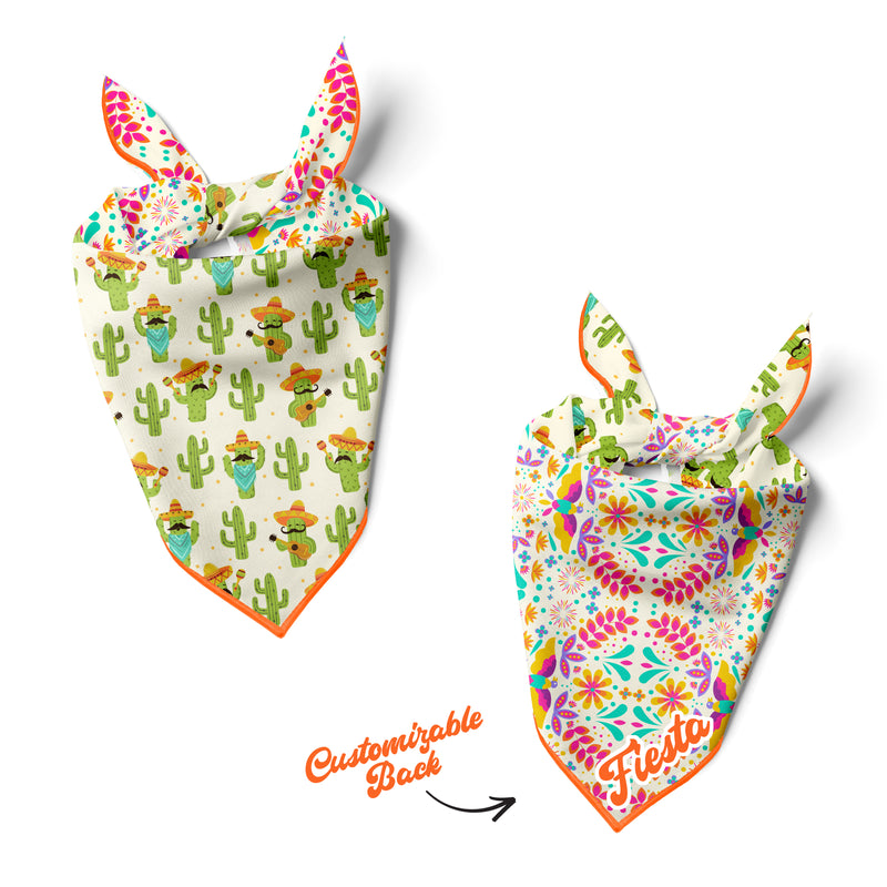 Cinco de Mayo - Double Sided Dog Bandana