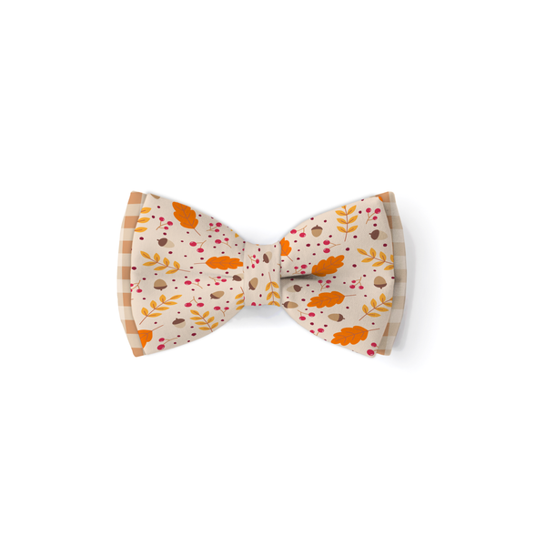 Let's Get Basted - Double Layered Bow Tie