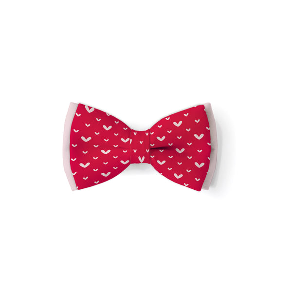 Love Hearts - Double Layered Bow Tie