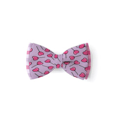 Heart Lollypops - Double Layered Bow Tie