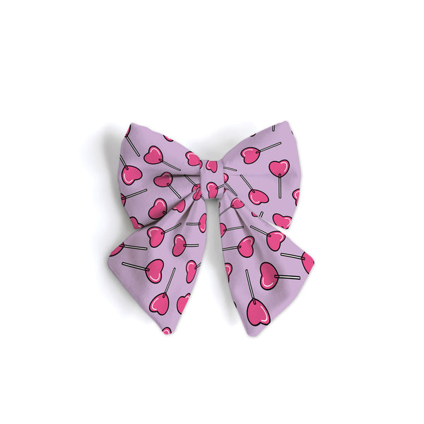 Heart Lollypops - Sailor Bow