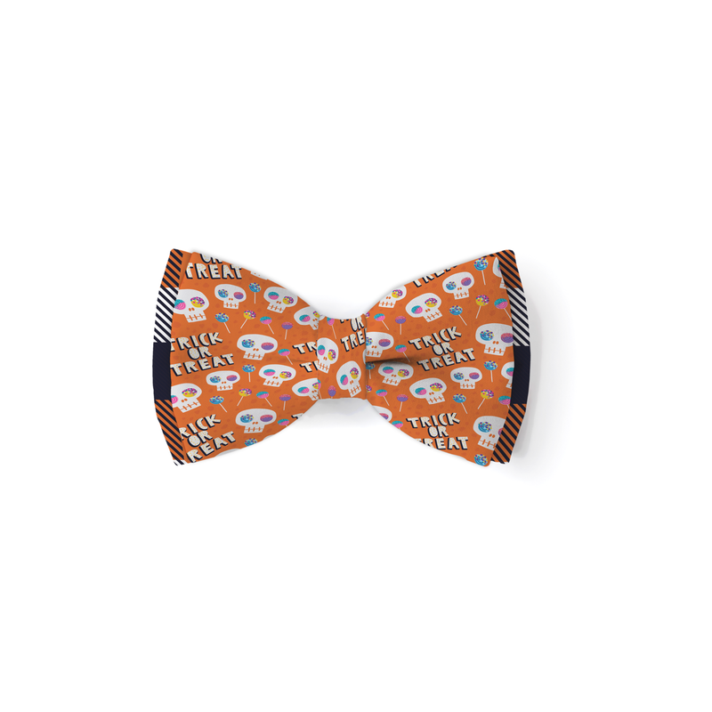 Trick or Treat - Double Layered Bow Tie