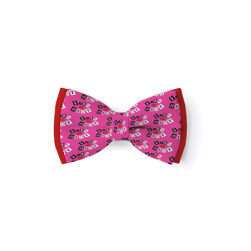 Burn Book - Double Layered Bow Tie