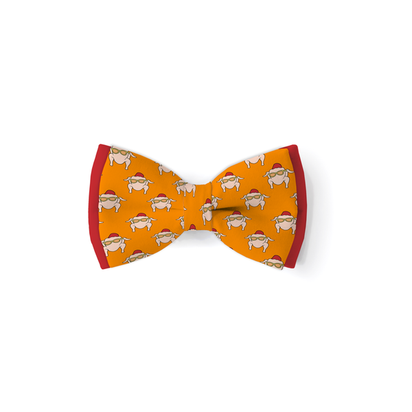 Friendsgiving - Double Layered Bow Tie