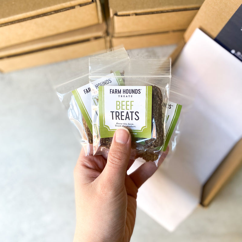 Treat Samples by Farm Hounds