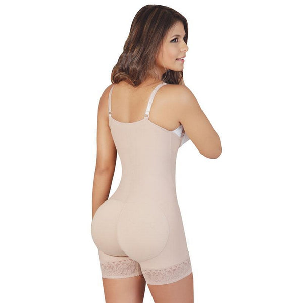 Faja Salome-0215-Strapless-Body-Shaper-beige