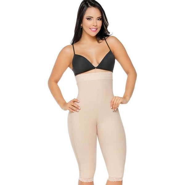 Faja-Salome-0219-Strapless-Long-Short-Invisible-High-Shooting-Lift-beige