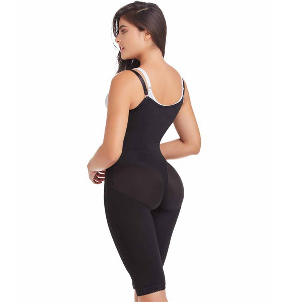 Delie Faja diseños de Prada Faja Colombiana 11047 Post-Surgery High Compression-Black