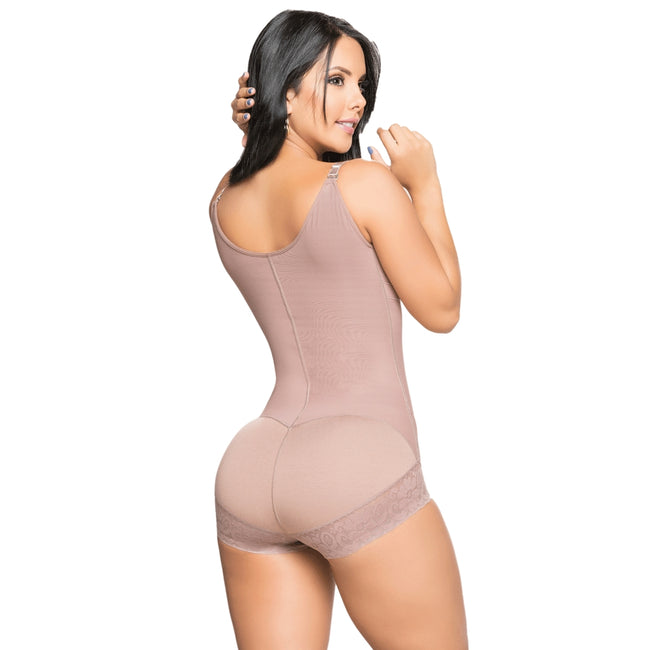 Faja-Salome-0534-J-Liposculpture-Girdle-Bodysuit-Pre-shaped-Bra-Coffe