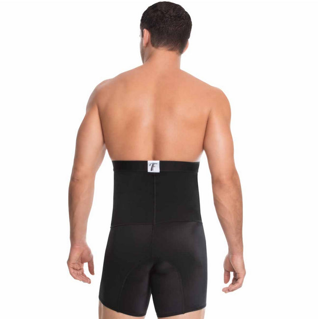 Delie by Fajas Diseños DPrada Faja Colombiana 09079 Coleccion Male Short Girdle Strapless Black