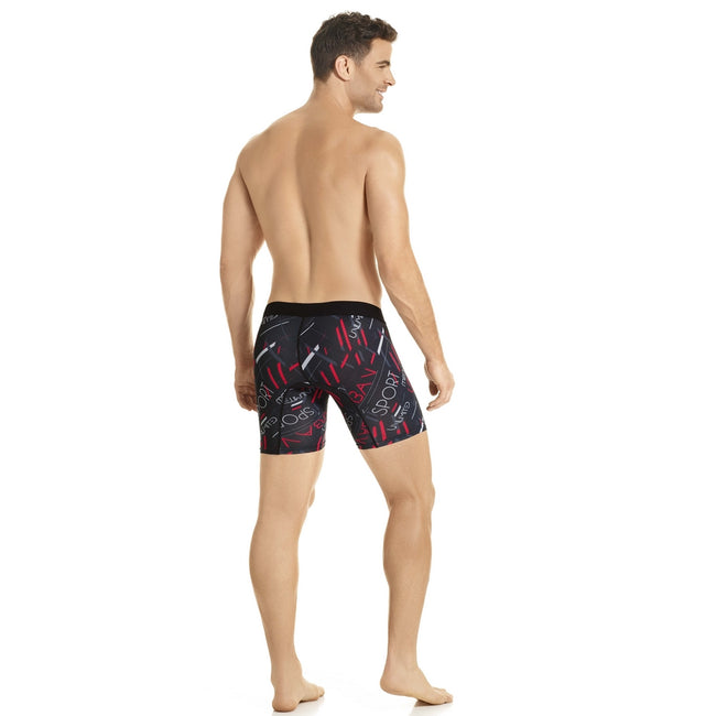 Hawai® Original Underware Men's Sleek Boxer Brief Middle Leg 41912