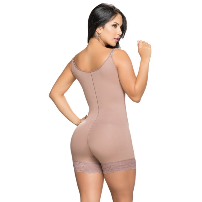 Salome-0540-J-Liposculpture-Girdle-High-back-Short-Light-Line(Medium-Light-control)-Coffe