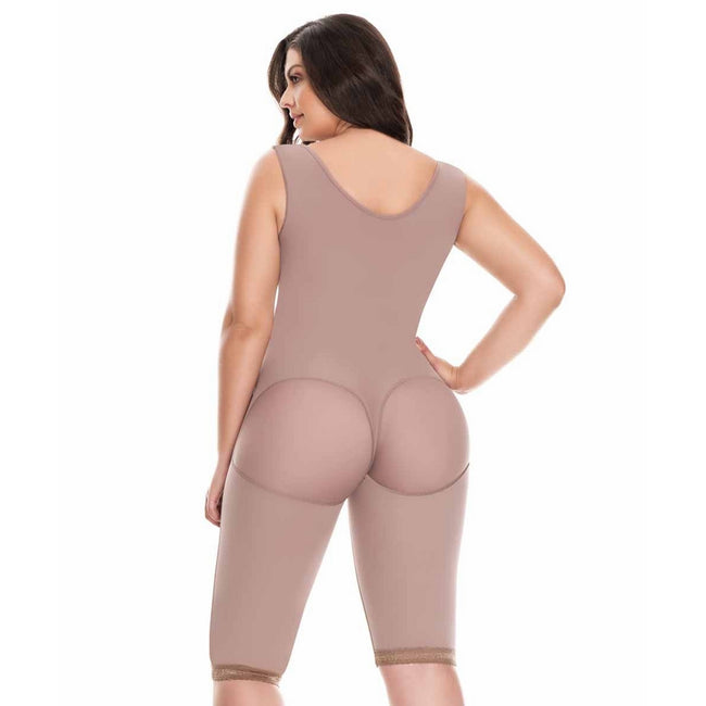 Delie By Fajas Diseños DPrada Faja Colombiana 09186 Invisible, hip-hugging girdle Cafe