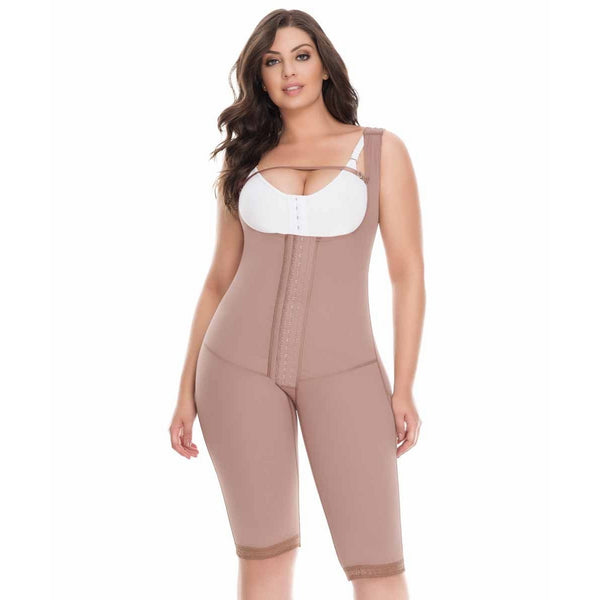 Delie By Fajas Diseños DPrada Faja Colombiana 11186 Invisible, hip-hugging girdle Cafe