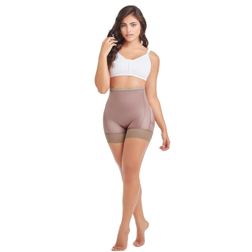 Delie by Fajas Diseños DPrada Faja Colombiana Short Panty style Compression Plus Size