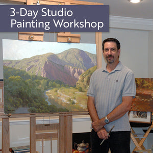 Armand Cabrera 3-Day Oil and Acrylic Workshop in April