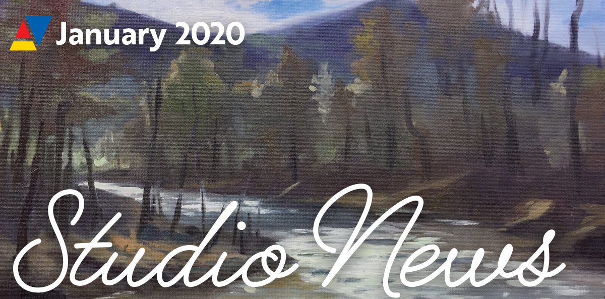 Art Studio Update: January 2020