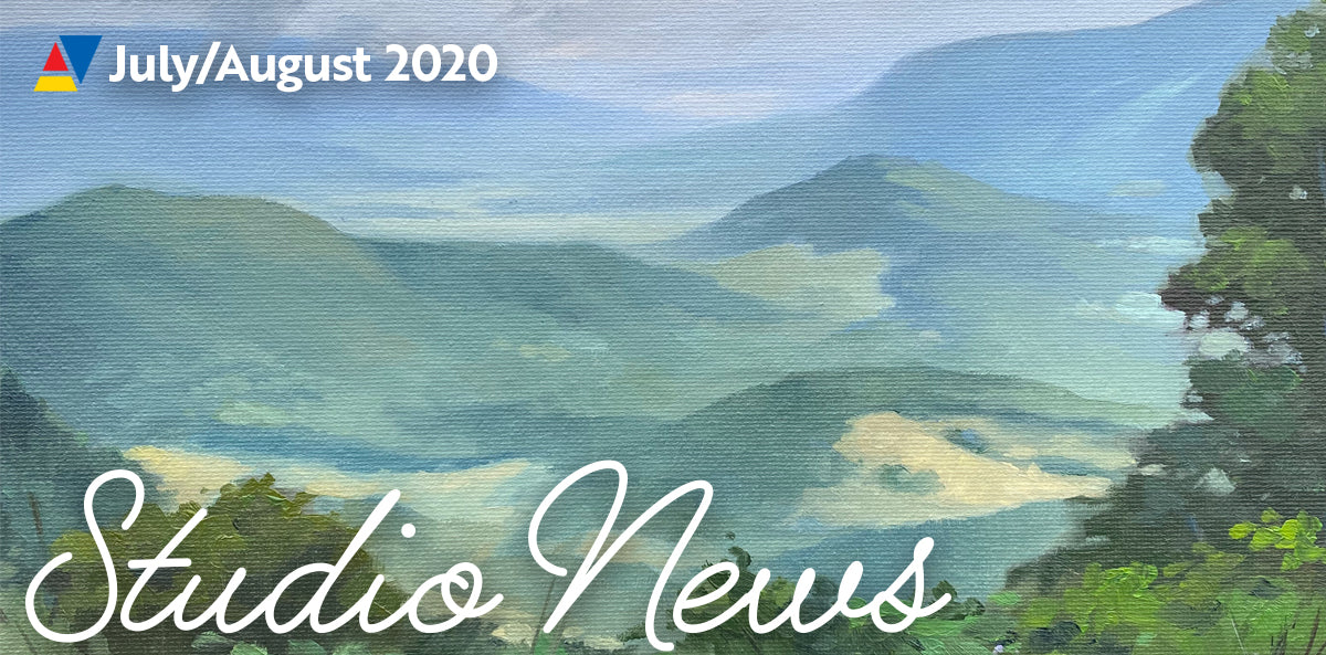 Art Studio Update: July/August 2020