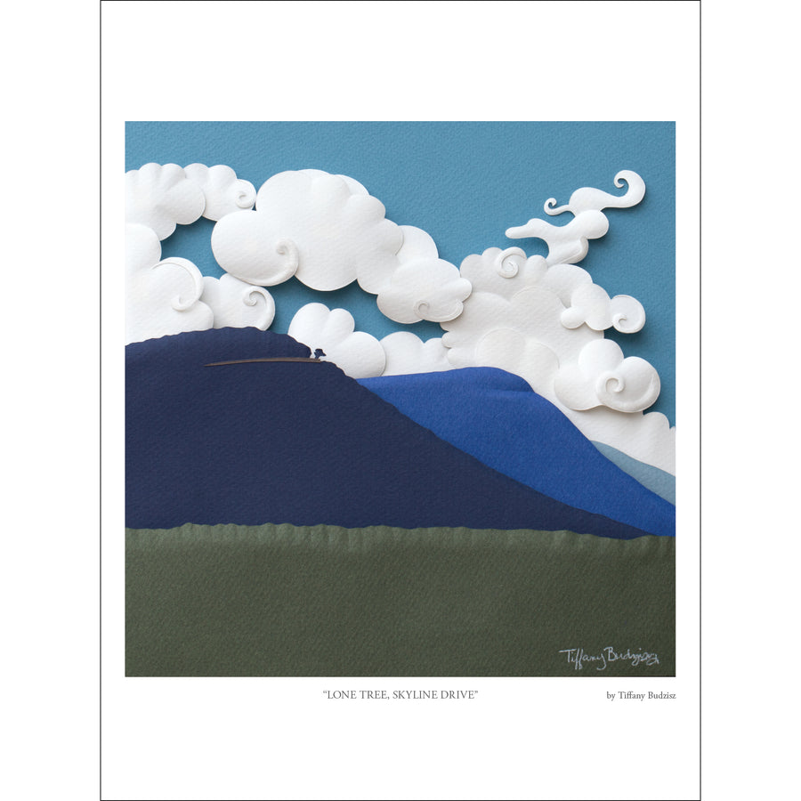 Lone Tree, Skyline Drive | fine art print