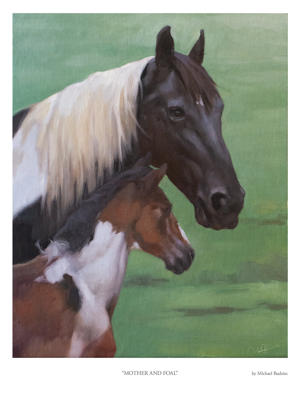Mother and Foal | fine art print