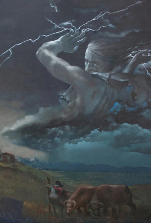 The Wrath of Zeus | fine art print 8 x 10