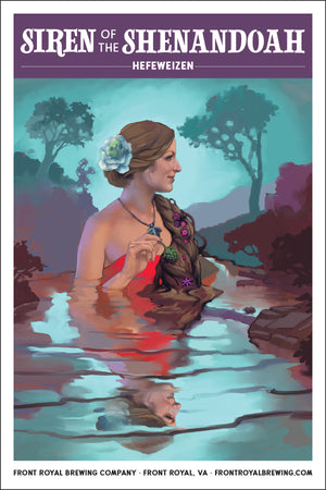 Siren of the Shenandoah Art Print