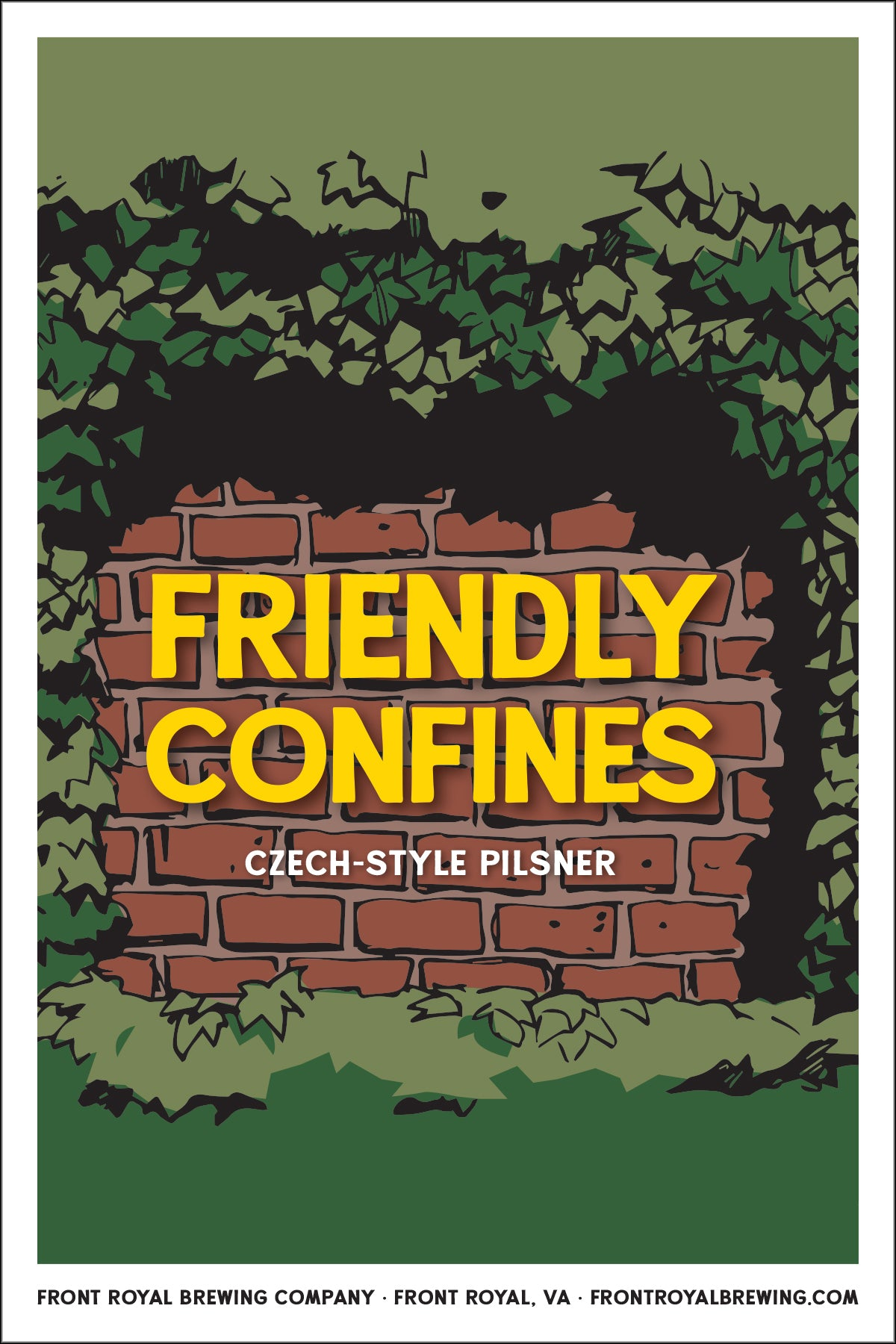 Friendly Confines Art Print