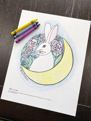FREE Luna Coloring Page