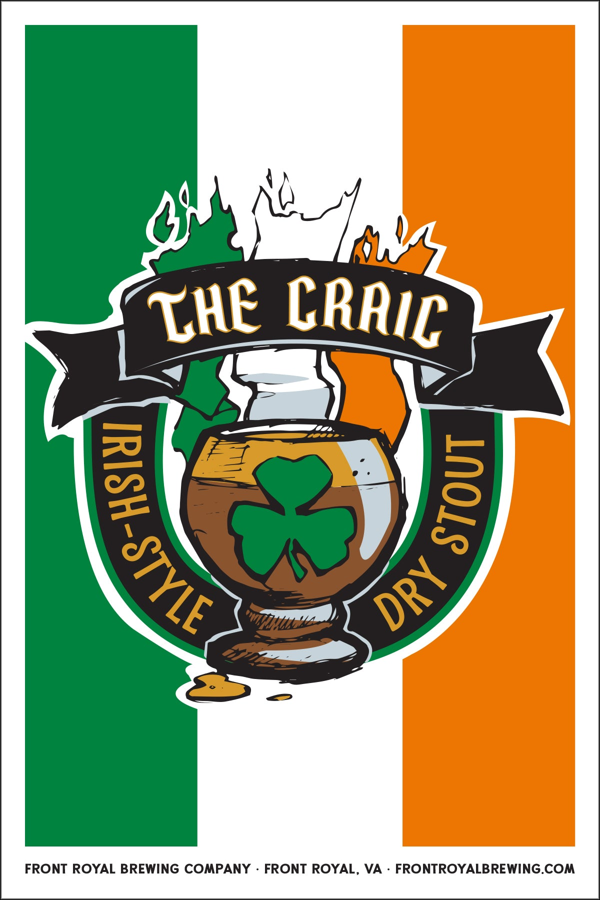 The Craic Art Print