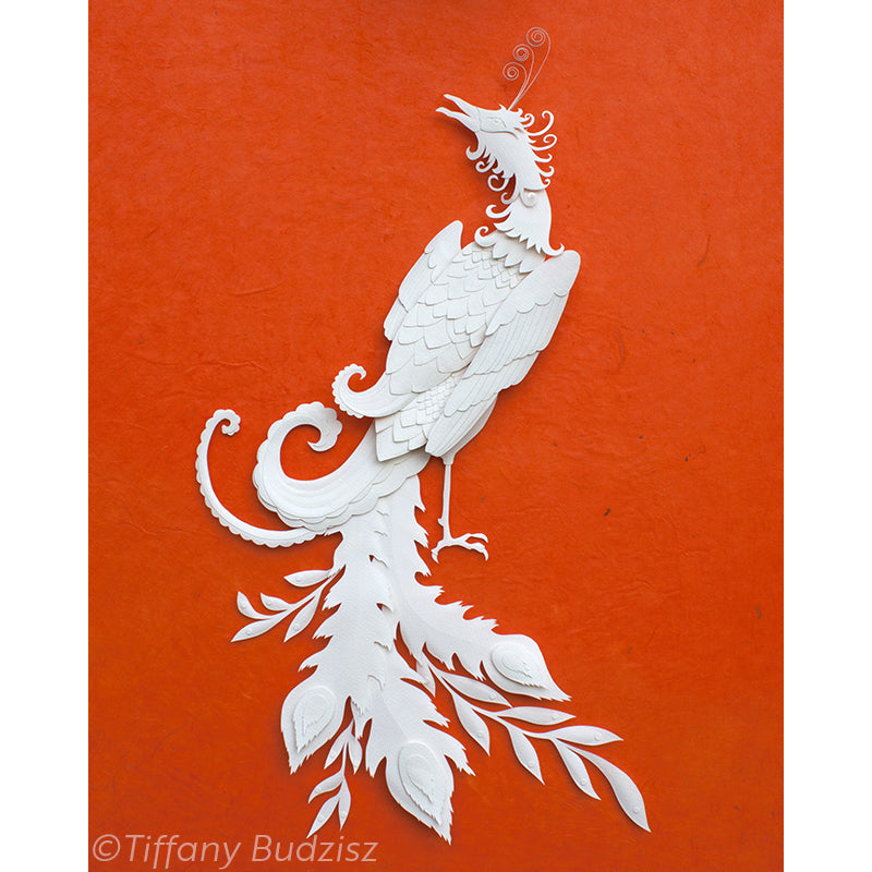 Phoenix | original paper sculpture