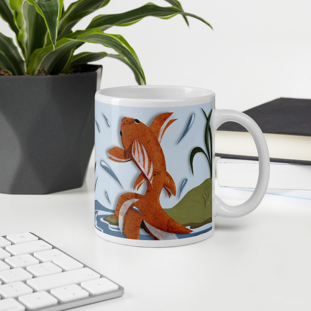 Fish Out of Water Mug