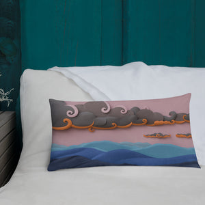 Shenandoah Sunset Pillow