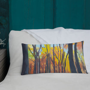 Autumn Forest Pillow