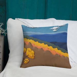 Autumn Layers Pillow