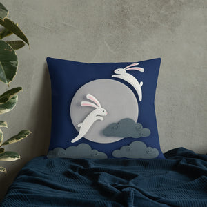 Moon Rabbits Pillow